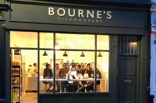 Bourne's Fishmongers & Seafood Bar