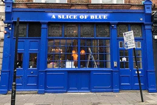 A Slice of Blue