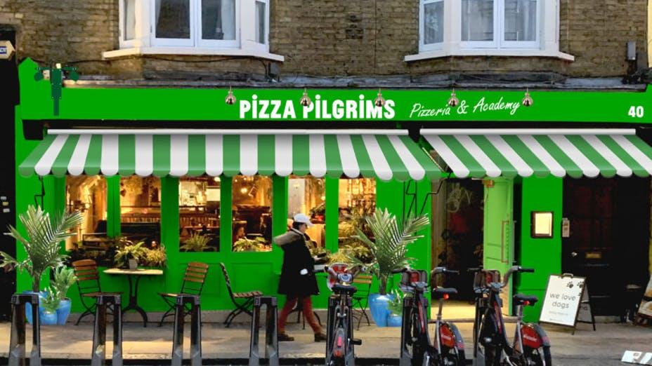 Pizza Pilgrims Pizzeria & Academy Camden