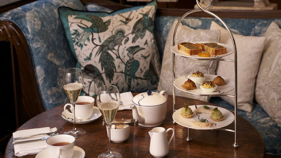 The Parlour at the Great Scotland Yard Hotel Afternoon Tea