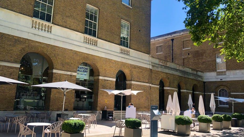 The Saatchi Gallery Bar & Brasserie