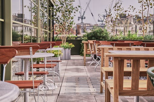 Roof Garden at Pantechnicon