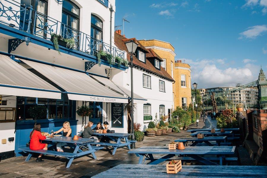 The Blue Anchor Hammersmith