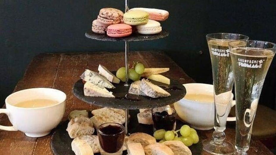 Afternoon Tea at Champagne + Fromage - Greenwich
