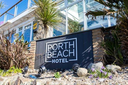 The Restaurant at Porth Beach Hotel