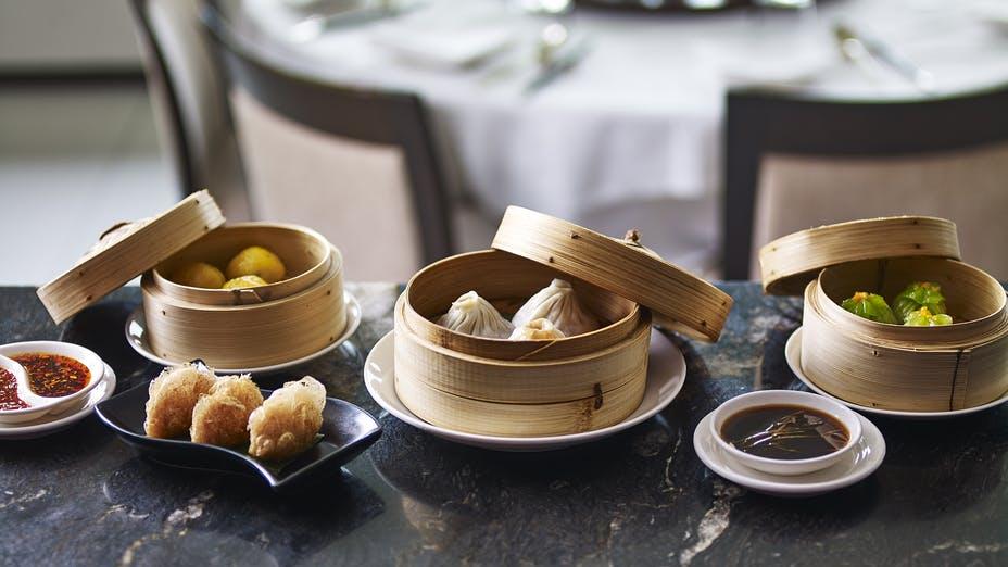 Min Jiang at the Royal Garden Hotel