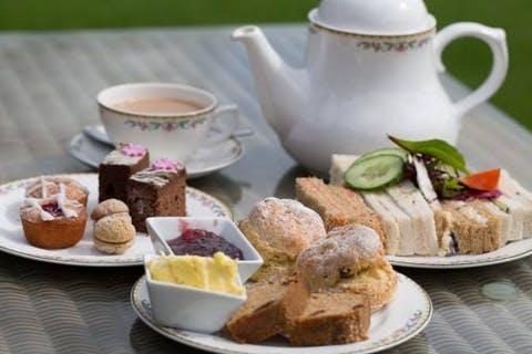 Afternoon Tea at Lifton Hall Hotel