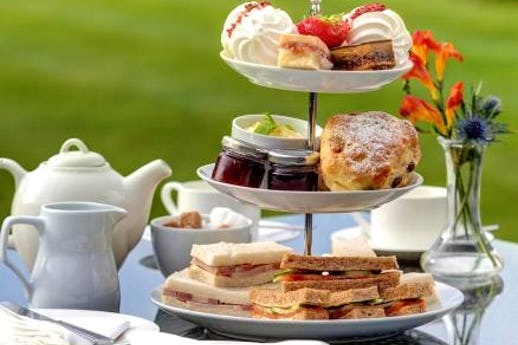 Afternoon Tea at Plas Maenan Country House