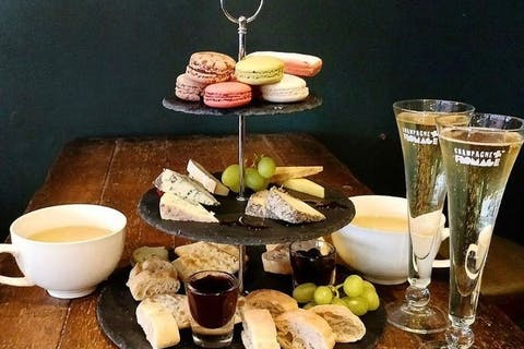 Afternoon Tea at Champagne + Fromage - Covent Garden