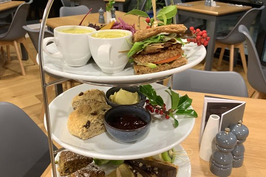 Afternoon Tea at Whins Green Kitchen