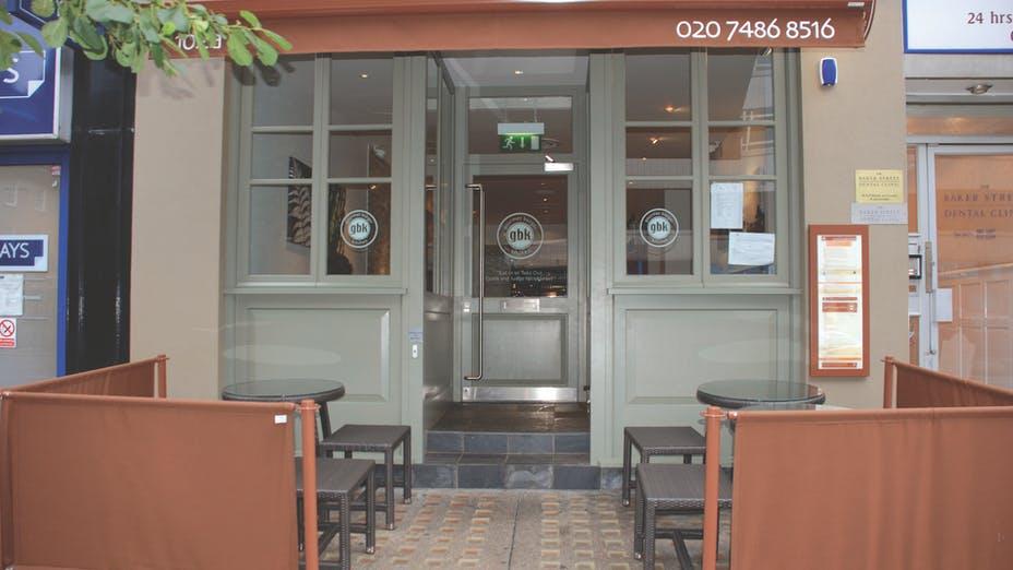 Gourmet Burger Kitchen Baker Street