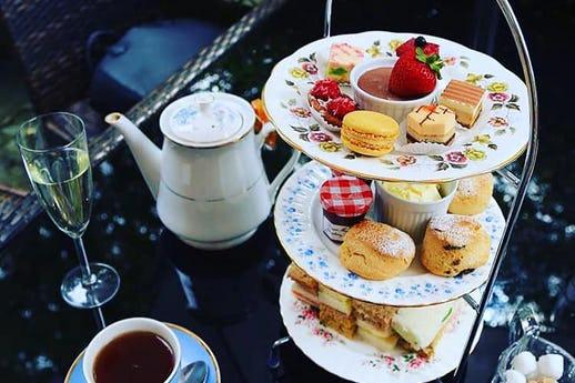 Afternoon Tea at Tudor Barn