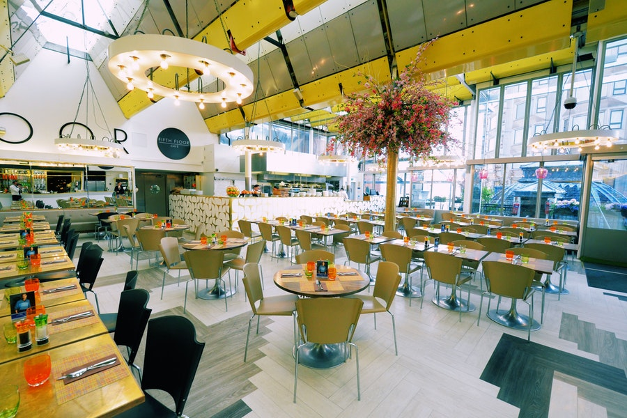 Fifth Floor Café at Harvey Nichols