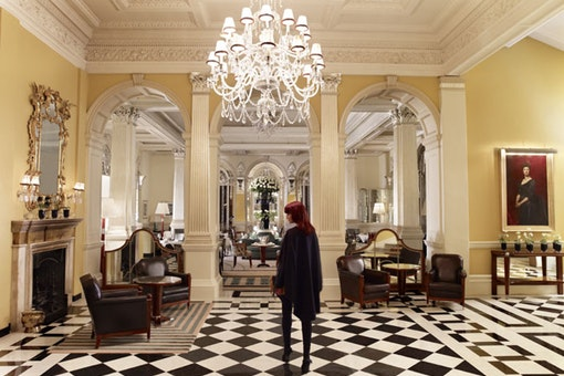 The Foyer & Reading Room at Claridge's