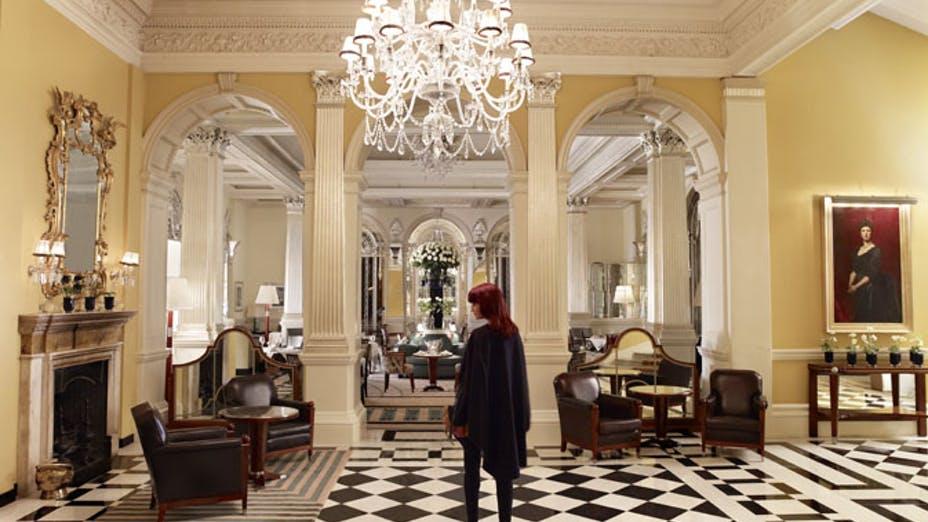 The Foyer & Reading Room at Claridge