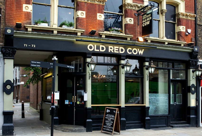 The Old Red Cow