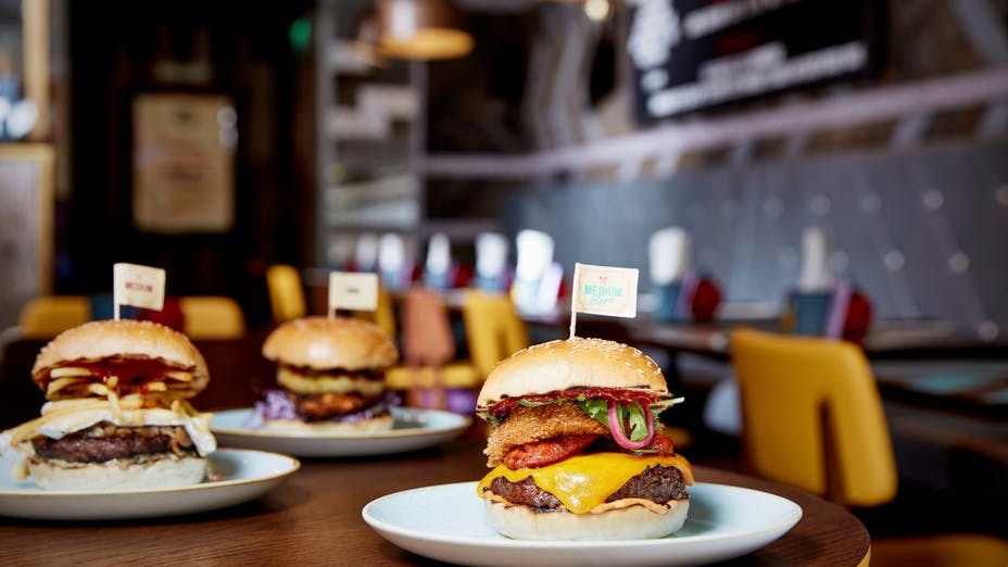 Gourmet Burger Kitchen, Lakeside