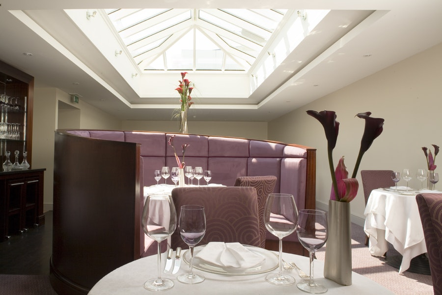 The Dining Room at Buxted Park Hotel