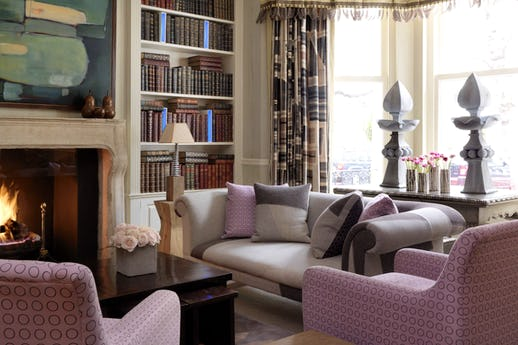 The Library at Knightsbridge Hotel