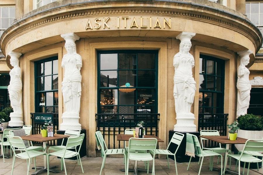 Ask Italian Cheltenham Gloucestershire Restaurant Reviews