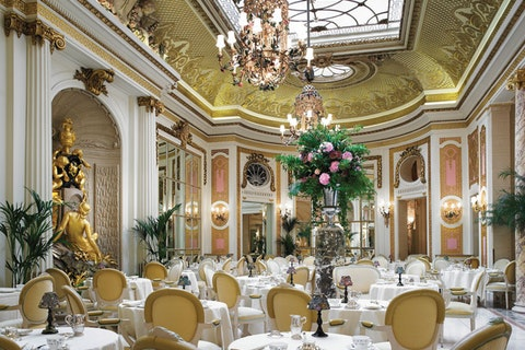 The Palm Court at The Ritz Hotel (afternoon tea)