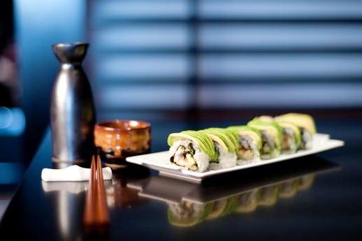Ichi Sushi & Sashimi Bar at the Park Plaza Hotel