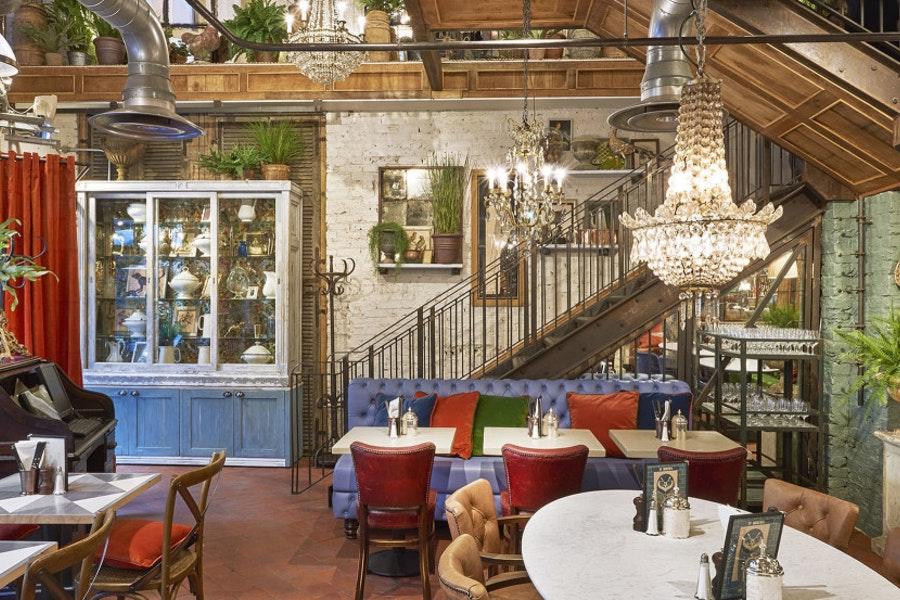 Bill's Restaurant St Martin's Courtyard