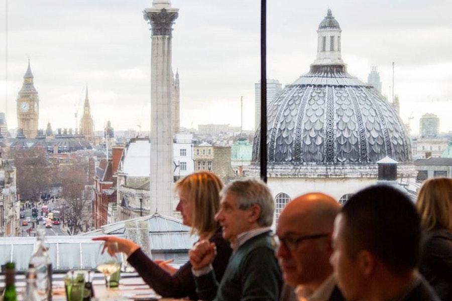 Portrait Restaurant at the National Portrait Gallery