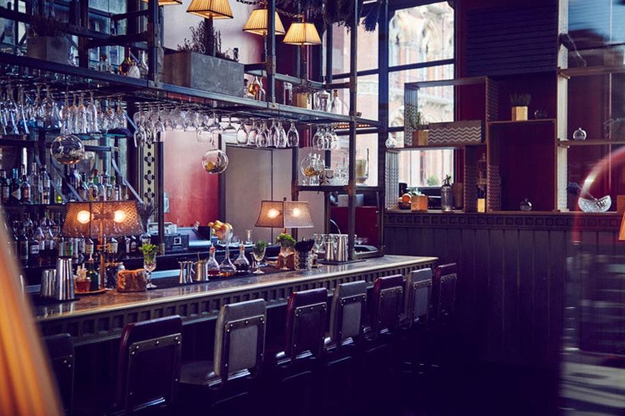 The Gilbert Scott (bar) at St Pancras Renaissance Hotel