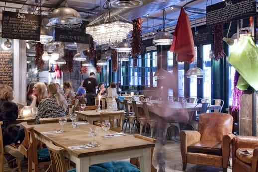 Bill's Restaurant Islington