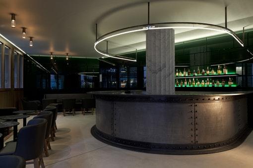 The Green Bar at Hotel Café Royal