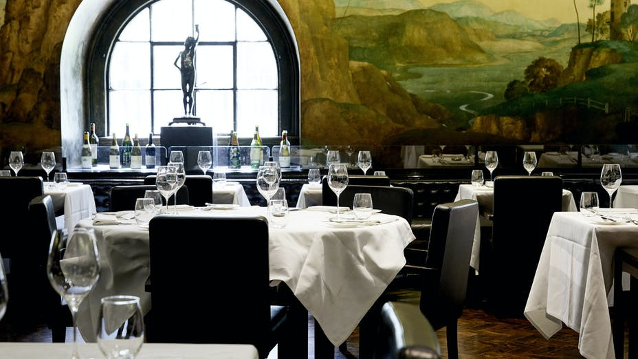 The Rex Whistler Restaurant at Tate Britain
