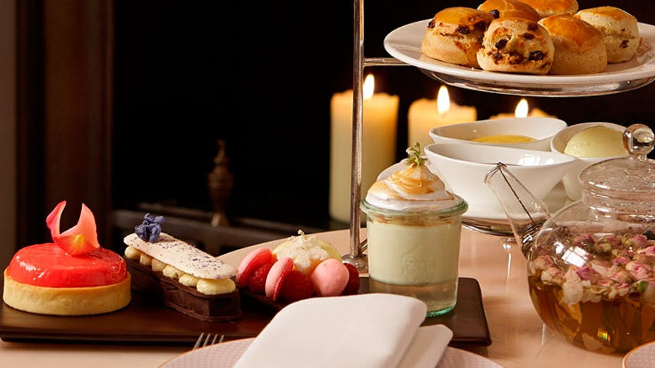 The Rose Lounge at Sofitel London St James Hotel (afternoon tea)