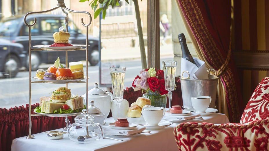 Royal Afternoon Tea at the Rubens at The Palace Hotel