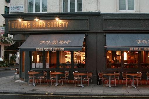 Balans Soho Society Café