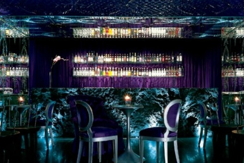 Purple Bar at Sanderson hotel
