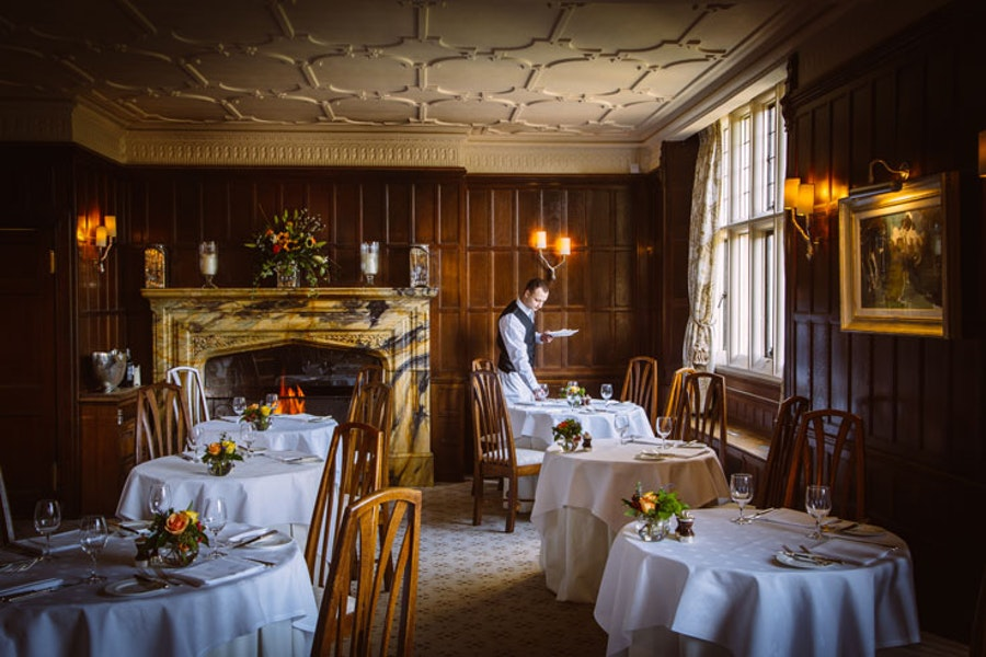 The Dining Room at Gravetye Manor