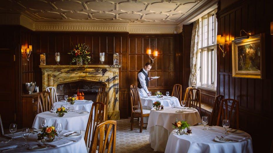 The Dining Room at Gravetye Manor