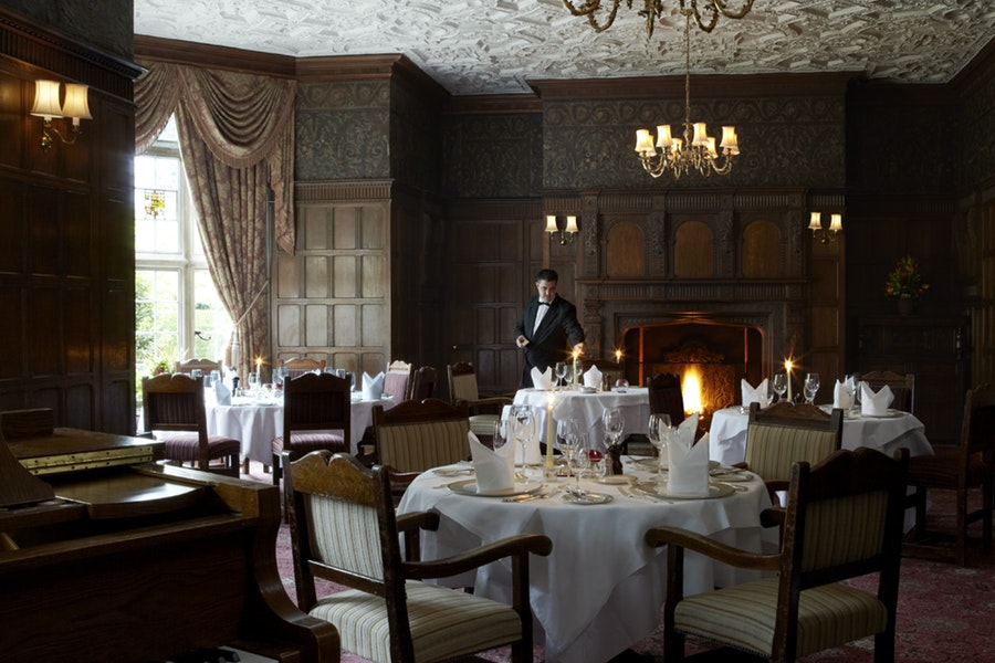 Oak Room Restaurant at Tylney Hall
