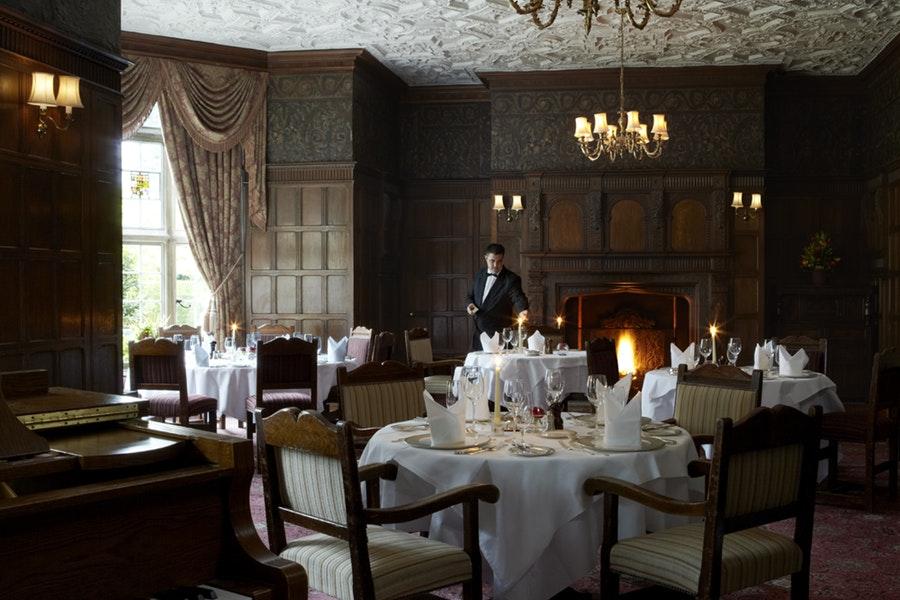 Oak Room Restaurant at Tylney Hall