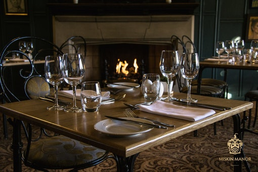 Portraits Restaurant at Miskin Manor