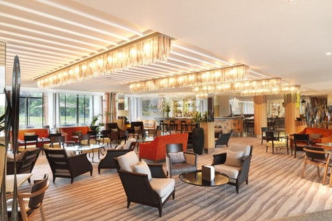 The Lounge at The Runnymede-on-Thames Hotel
