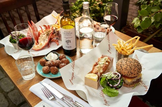 Burger and Lobster City
