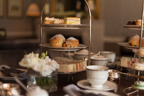 Afternoon Tea at Roseate House
