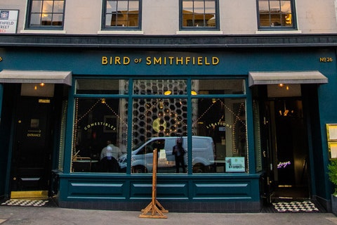 The Lounge Bar and Birdcage at Bird of Smithfield