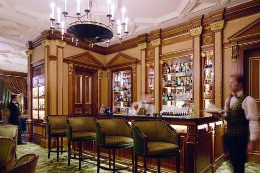 Library Bar at The Lanesborough