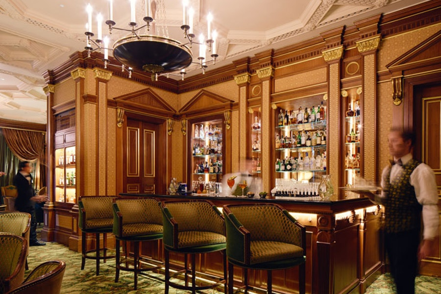 Library Bar at The Lanesborough