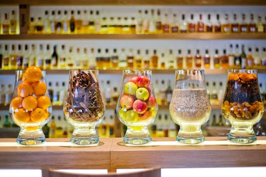 Amber Restaurant at The Scotch Whisky Experience