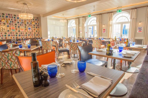 Upper Deck Restaurant at Christchurch Harbour Hotel