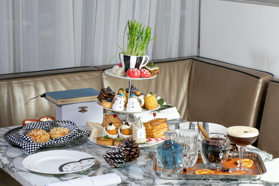 Mad Hatters Afternoon Tea at Sanderson hotel